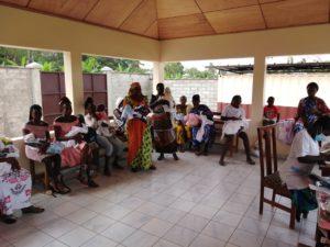 madres VIH, wale. Costa de Marfil