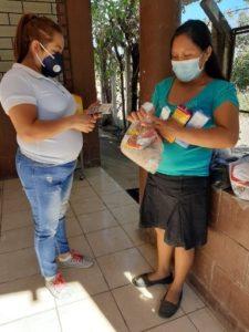 reparto nutricional. Tacuba. El Salvador