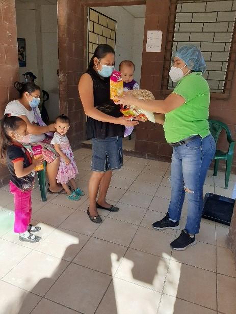 reparto nutricional Tacuba. Ahuachapán