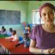 Misionera Diana en Turkana